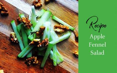 Recipe of the Week: Apple Fennel Salad