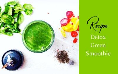 Recipe of the Week: Detox Green Smoothie