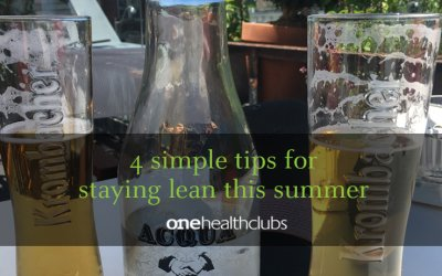 4 Simple Tips for Staying Lean This Summer