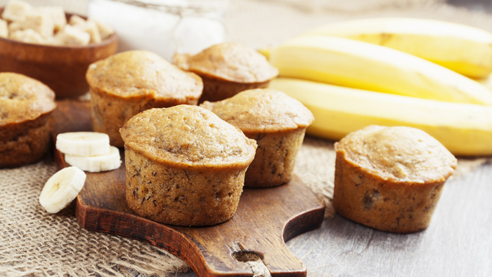 Banana Bread PROTEIN Muffins Recipe