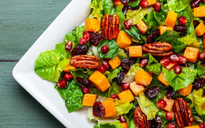 Roasted Squash Autumn Salad Recipe