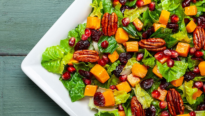 Roasted Autumn Squash Salad Recipe