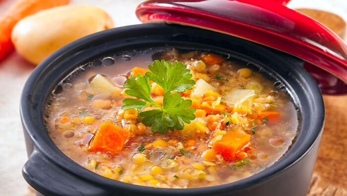 Crockpot Veggie and Lentil Stew Recipe